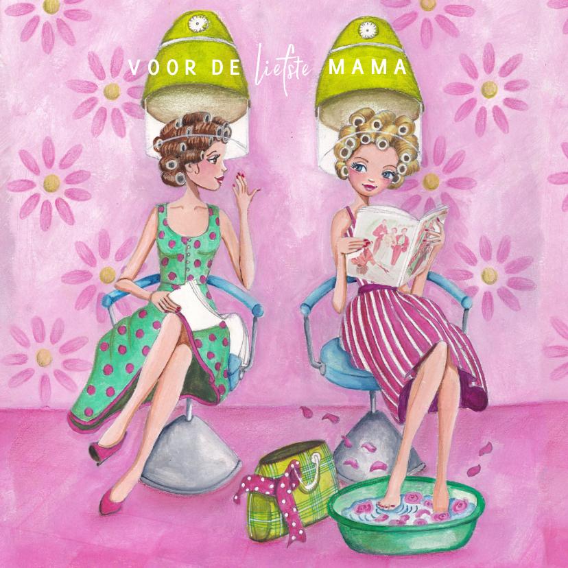 Moederdag Mama Liefste Verwendag