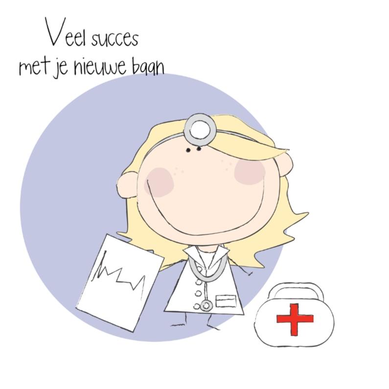 Nieuwe baan arts- vrouw 1