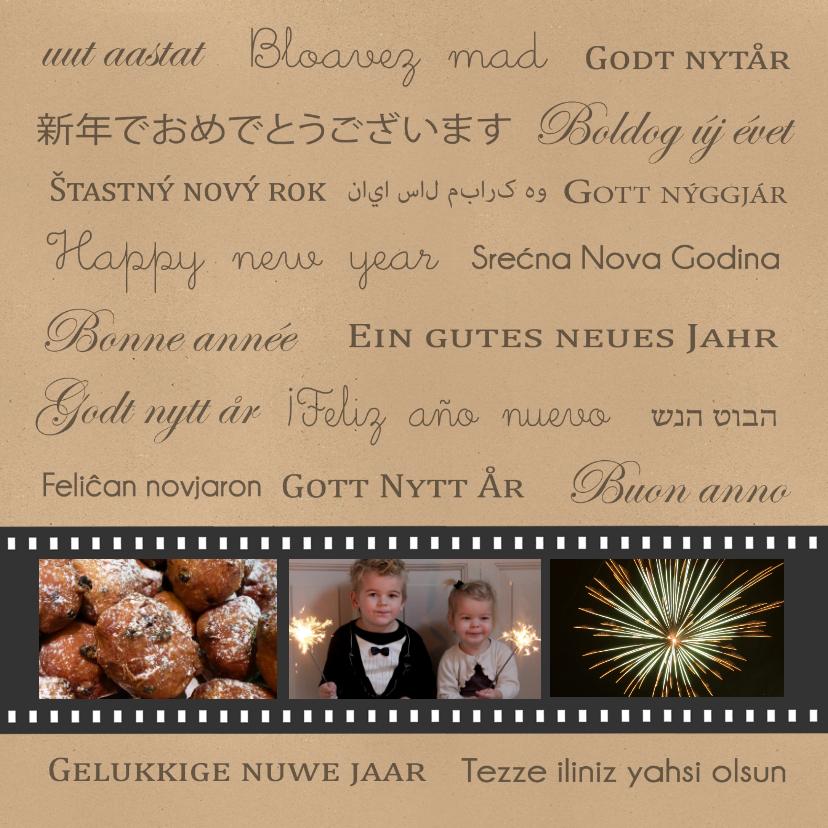 Nieuwjaar talen negatief - BC 1