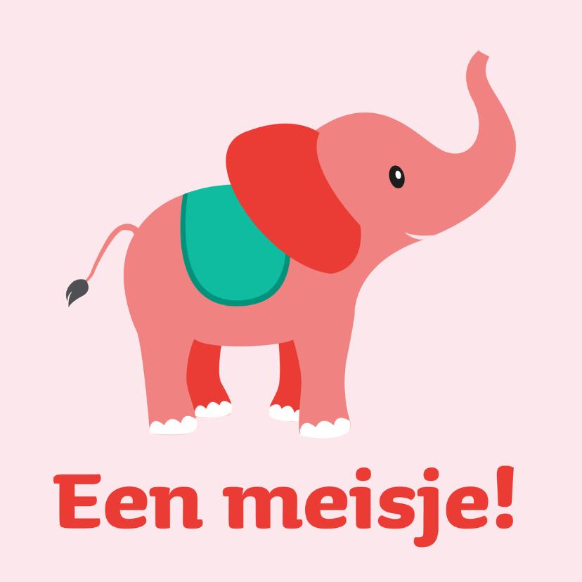 olifant Een meisje 1