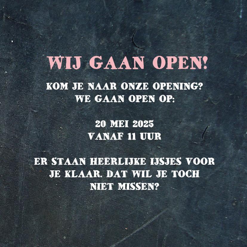 Opening ijswinkel - DH 3
