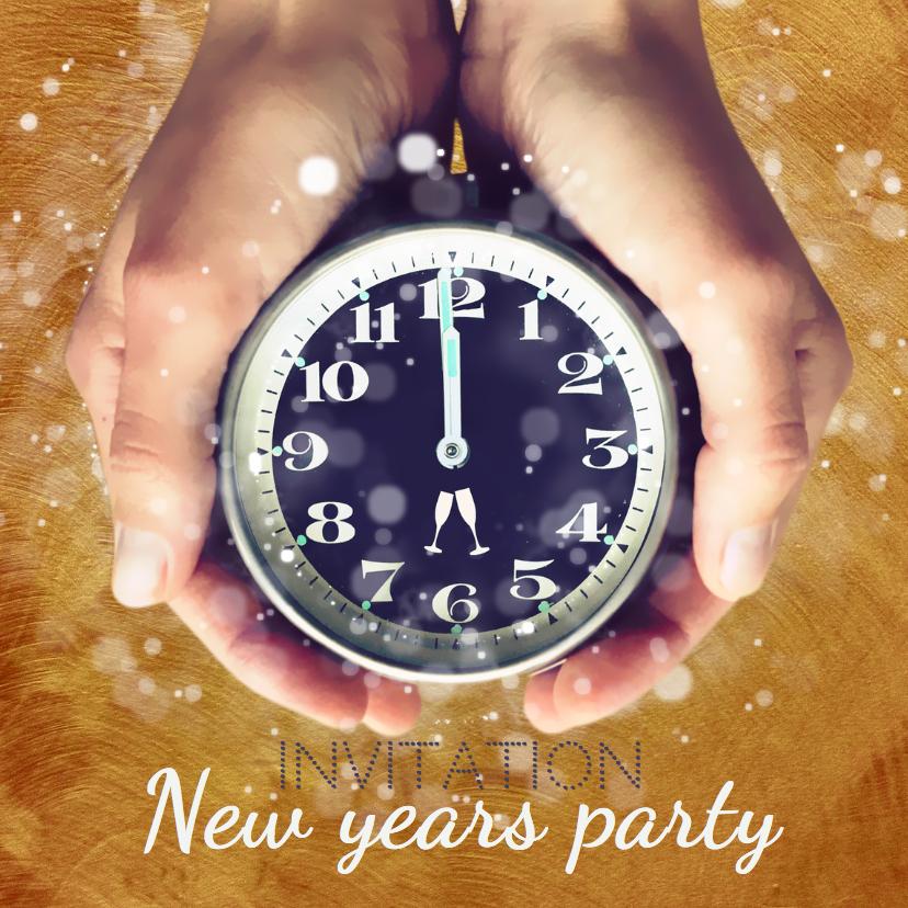 Oud en Nieuw party - uitnodiging 1