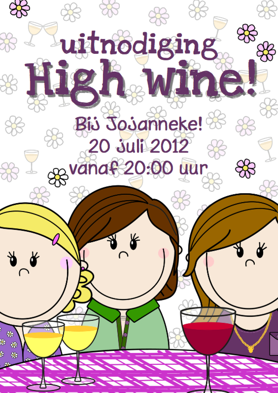 Party girls High wine 1
