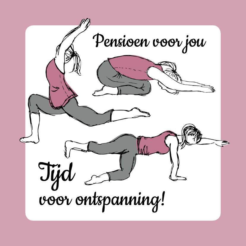 Pensioenkaart yoga en rust  1