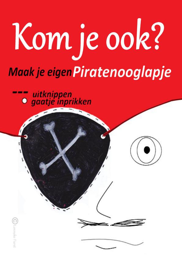 piratenfeestje -piraat-piraten- feestje 1