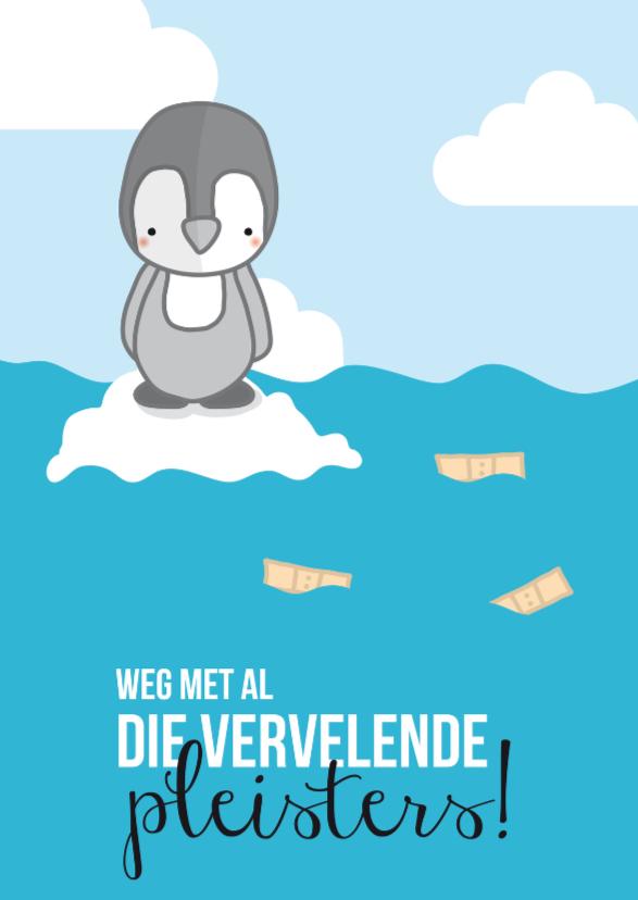 Prematuur - Pinguïn Pleisters 1