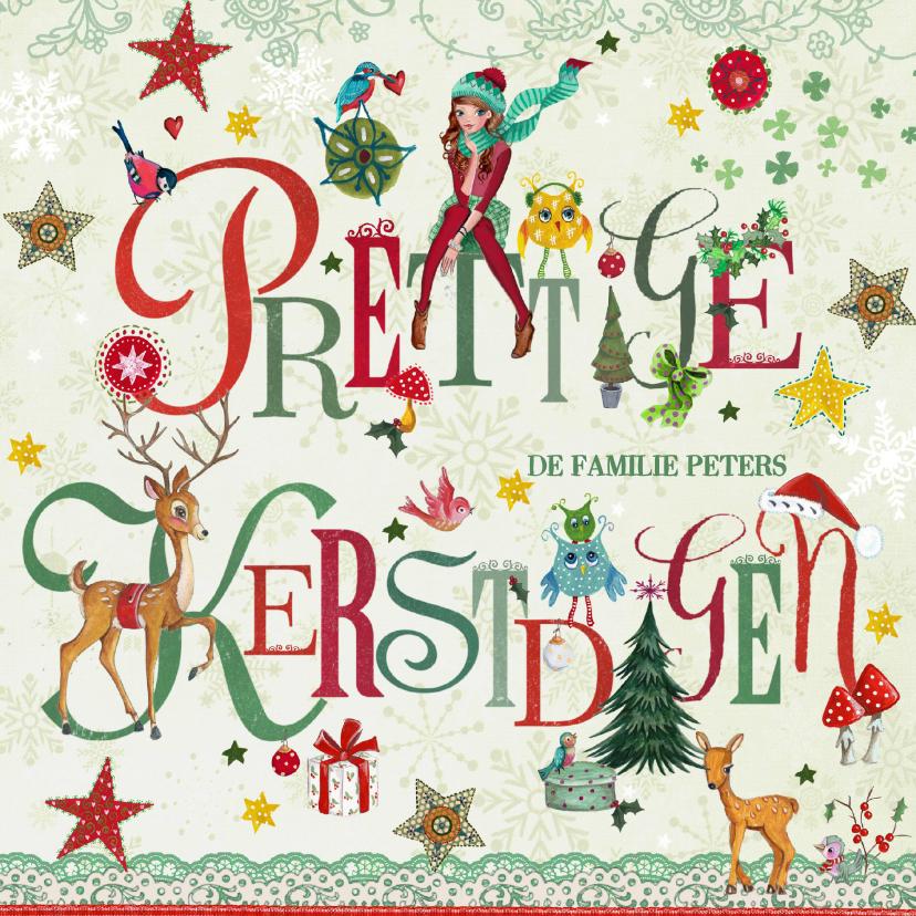 Prettige Kerstdagen Letters 1