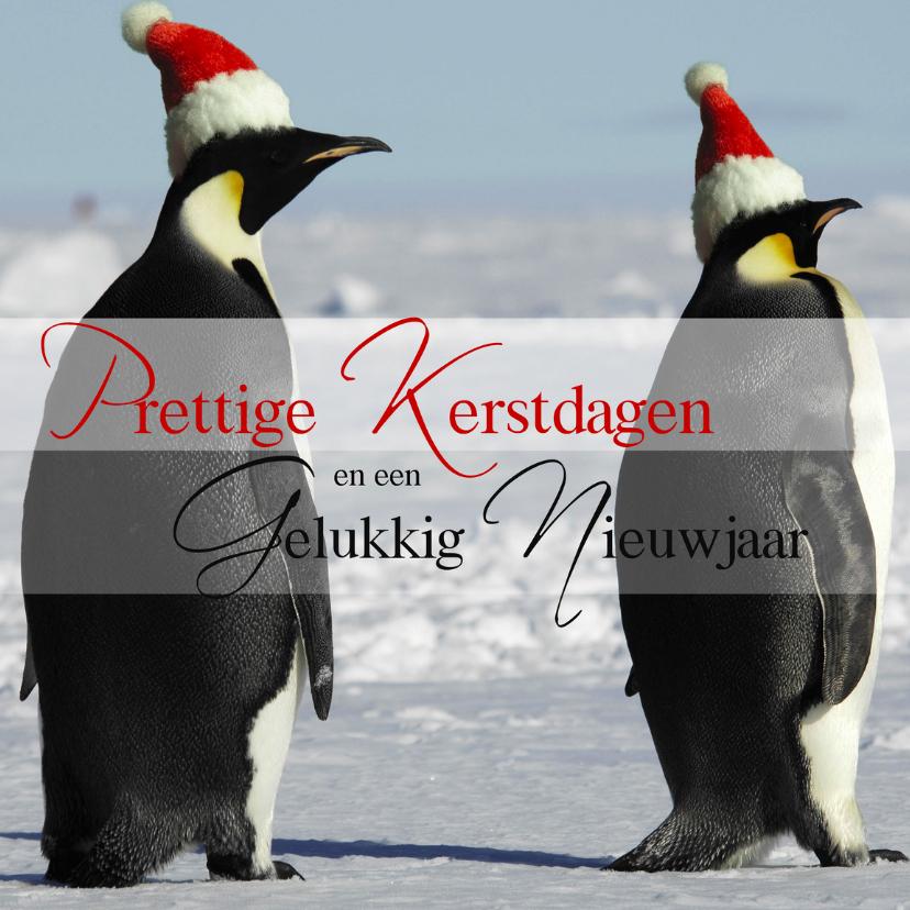 Prettige Kerstdagen Pinguins 1