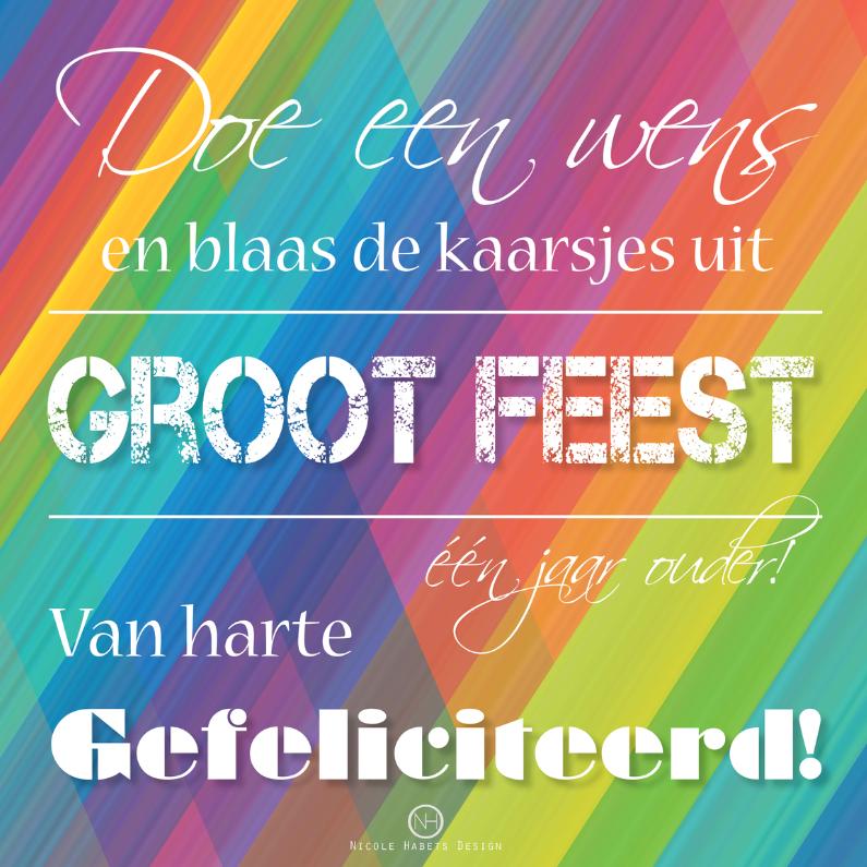 Regenboog groot feest 1