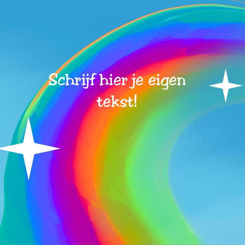 Regenboog Kinderkaarten Kaartje2go