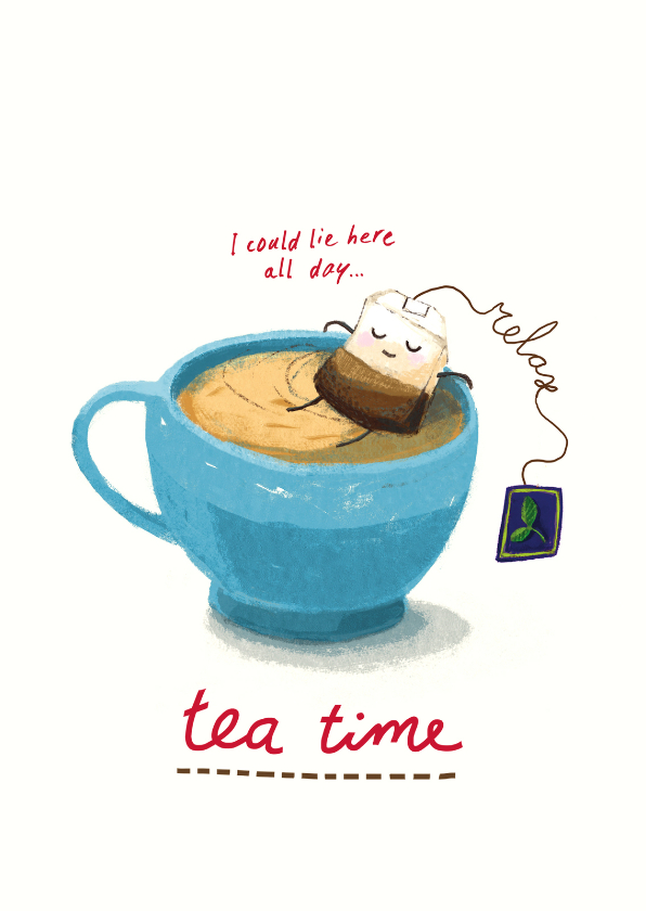 Relax, it's teatime! Theetijd :) 1