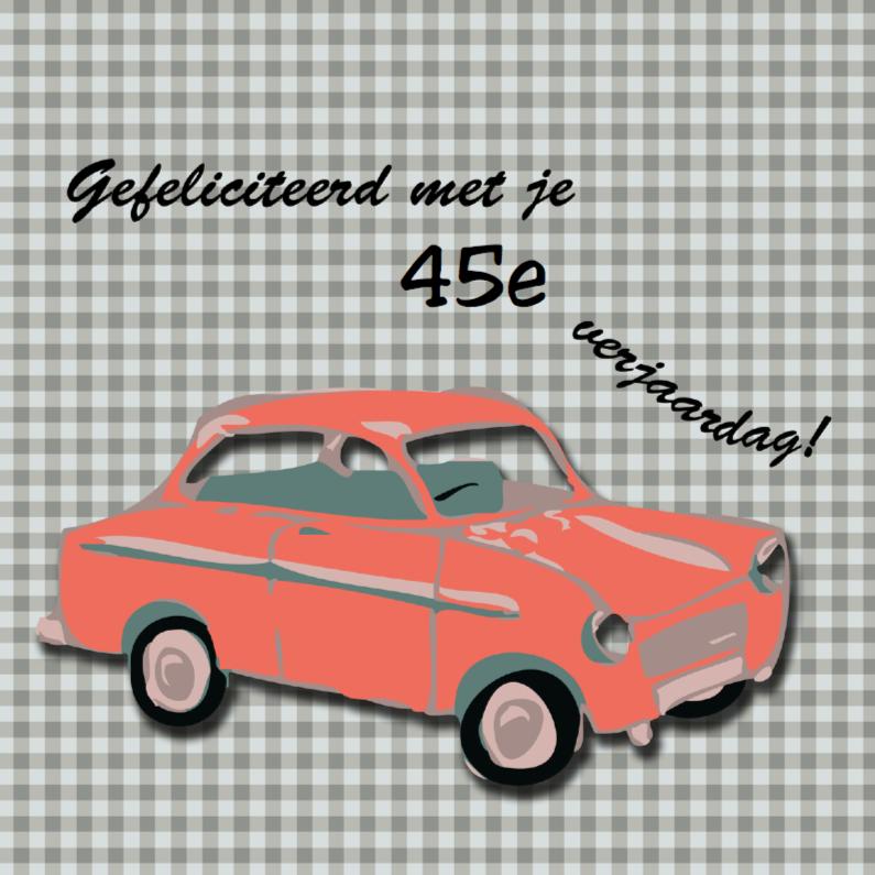 Rode auto 1