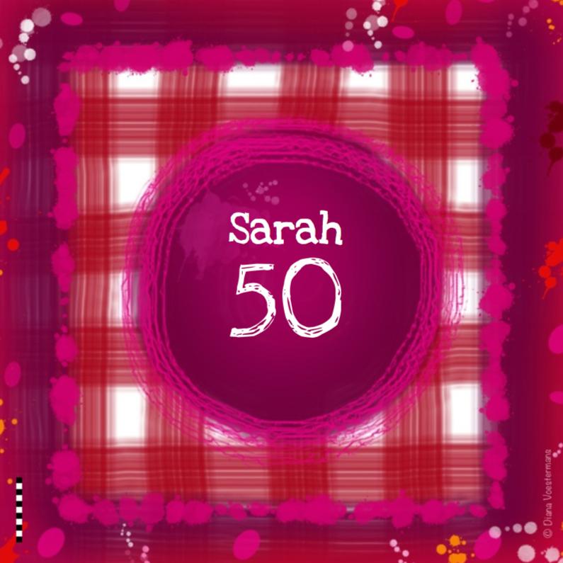 Sarah 50 ruitjes 1