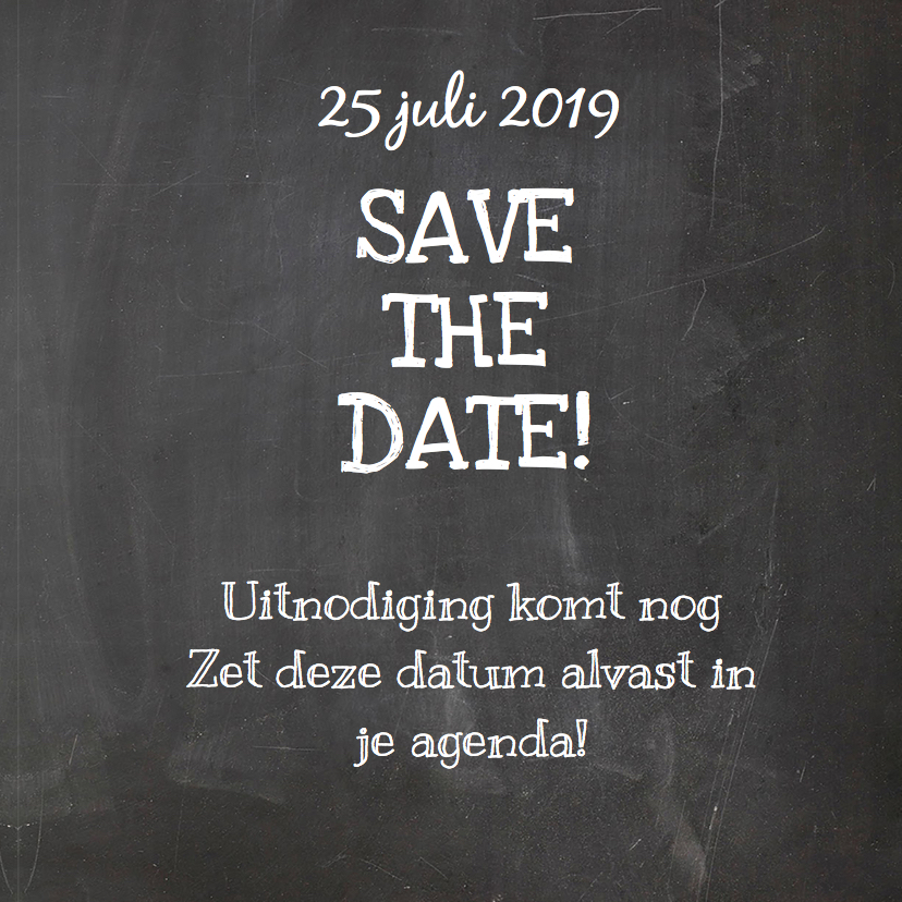 Save The Date handlettering hart 3