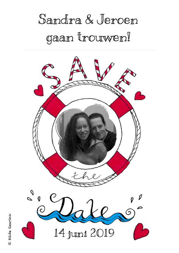 Save the Date Reddingsboei 2