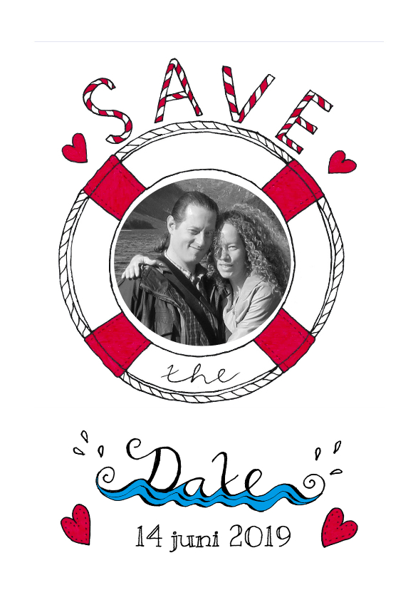 Save the Date Reddingsboei 1