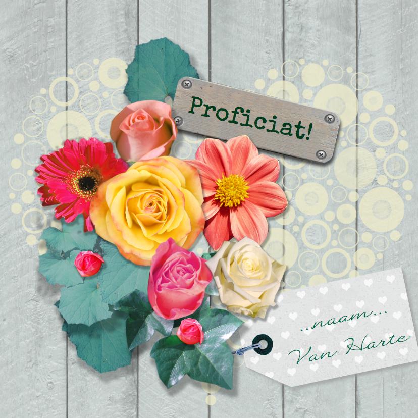 Sloophout en losse bloemen 1