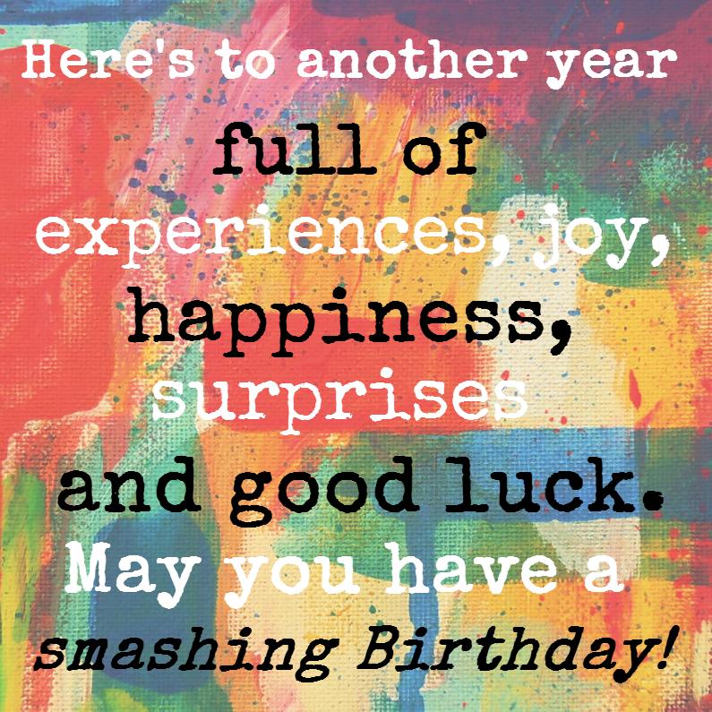 Smashing Birthday 1