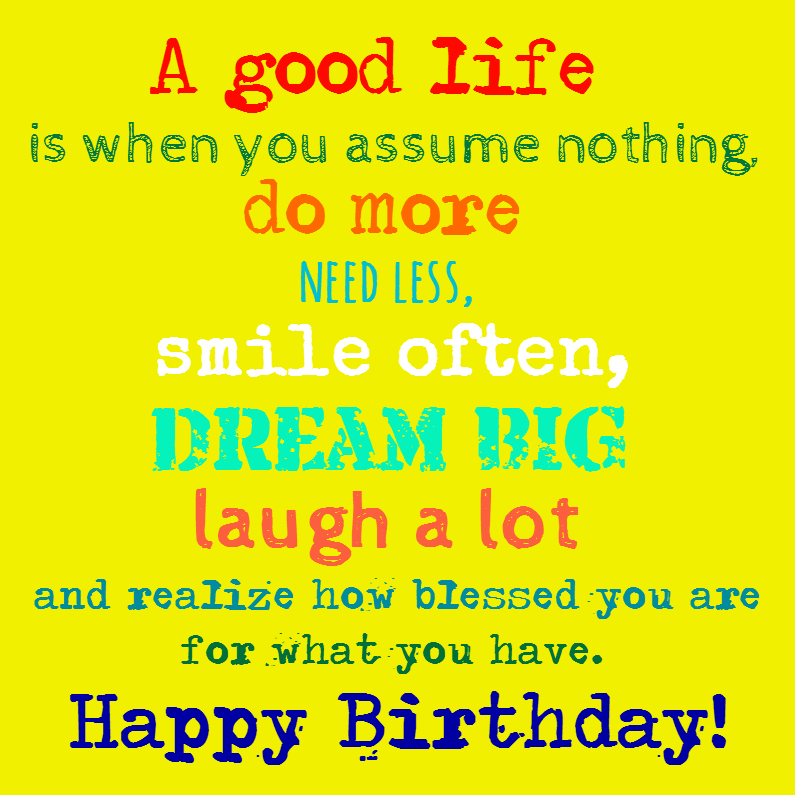 Smile often and dream big 1