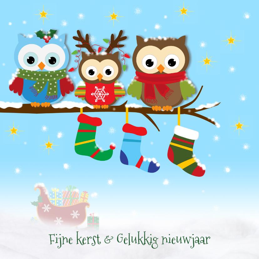 Sneeuw, uiltjes en kerstsokken 1