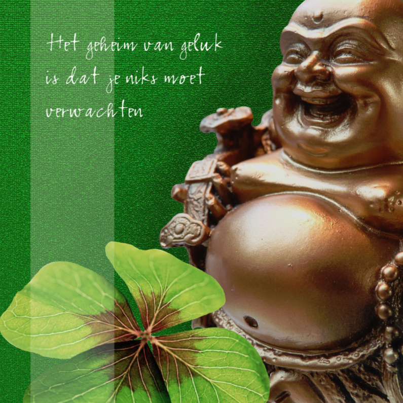 spirituele kaart lachende geluks boeddha religie kaarten