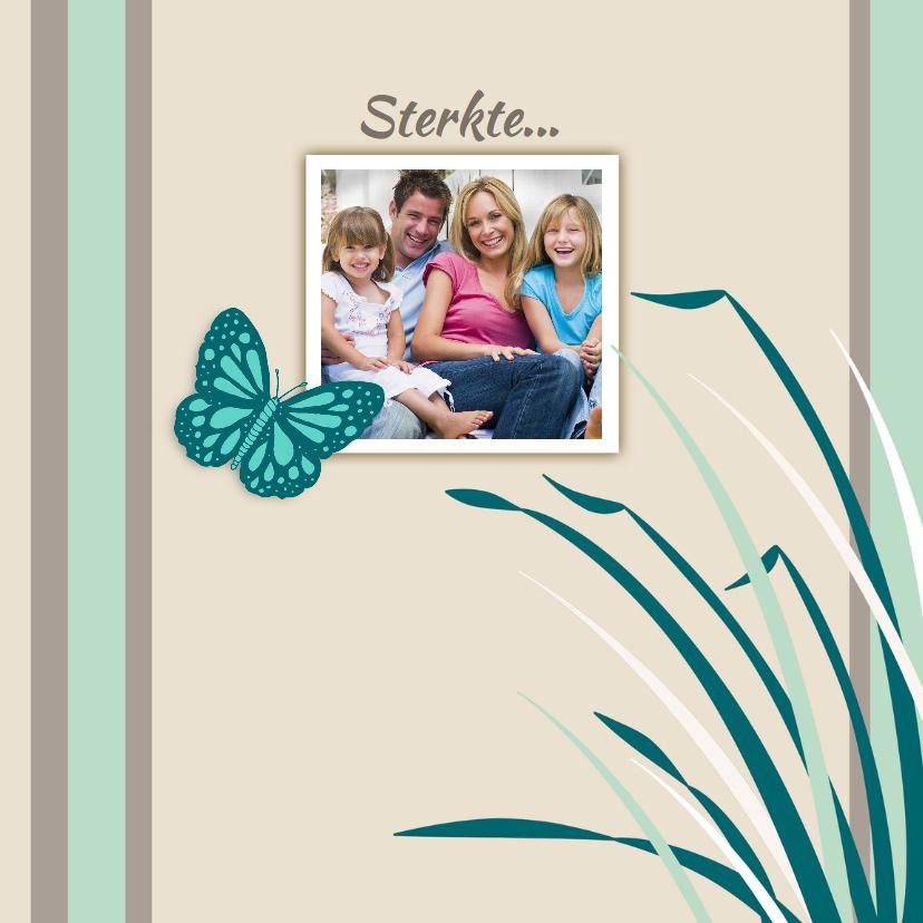 Sterkte kaart Vlinder Foto - HE 1
