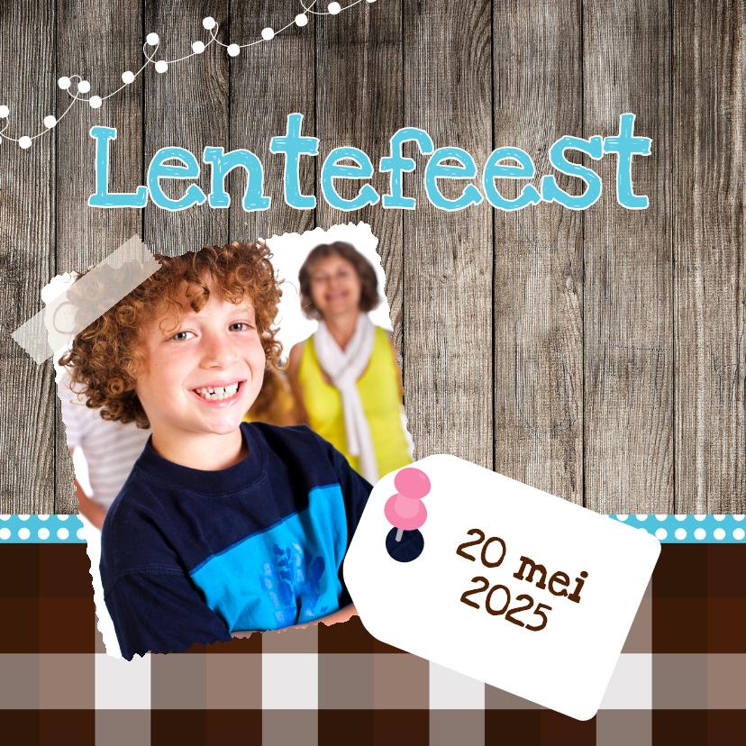 Stoere Lentefeestkaart - DH 1