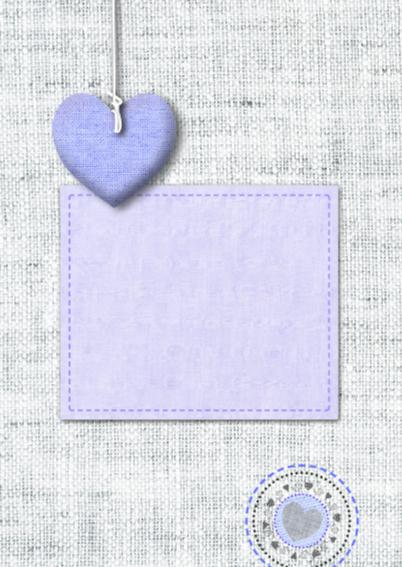 Stofjes stikselprint hart foto 2