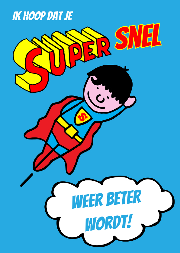 supersnel beterschap 1