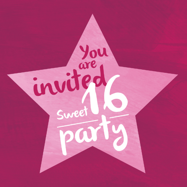 Sweet 16 party 1