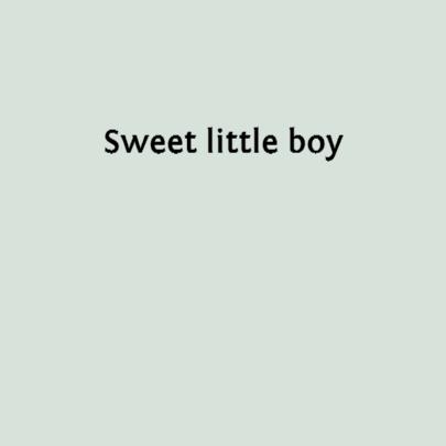 Sweet little boy 3