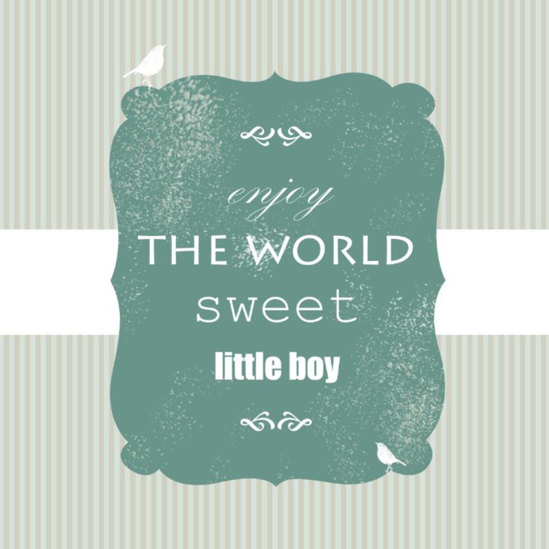 Sweet little boy 1