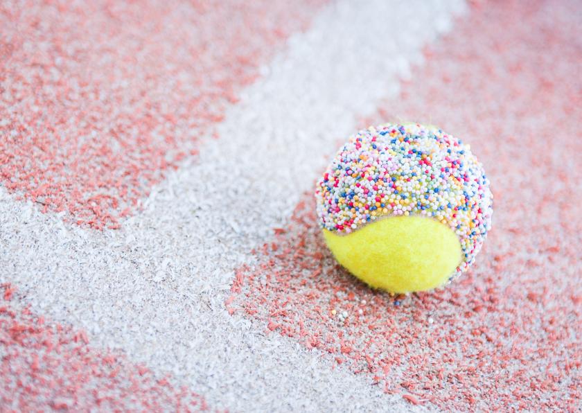 Tennis - felicitatie of feest 1