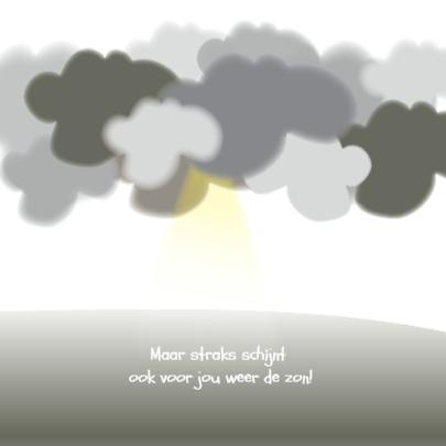 Troostkaart Clouds 3