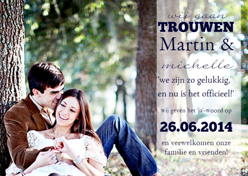 trouwdag fotokaart 1