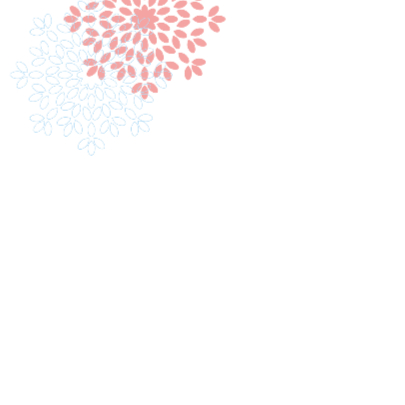 Trouwkaart bloem 3 2