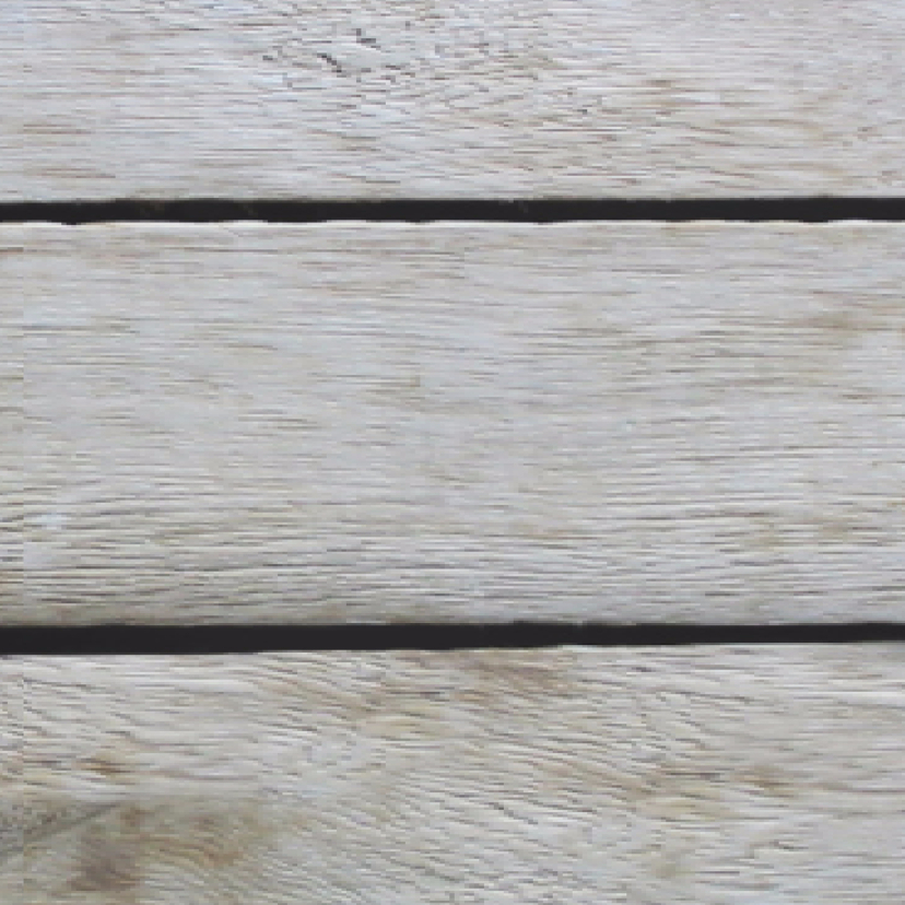 Trouwkaart hart slinger op hout 3