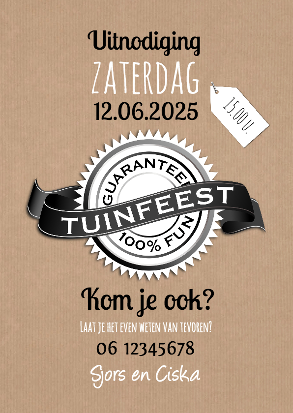 Tuinfeest 100% fun-isf 1