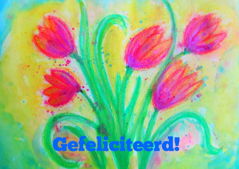Tulpen gefeliciteerd 1