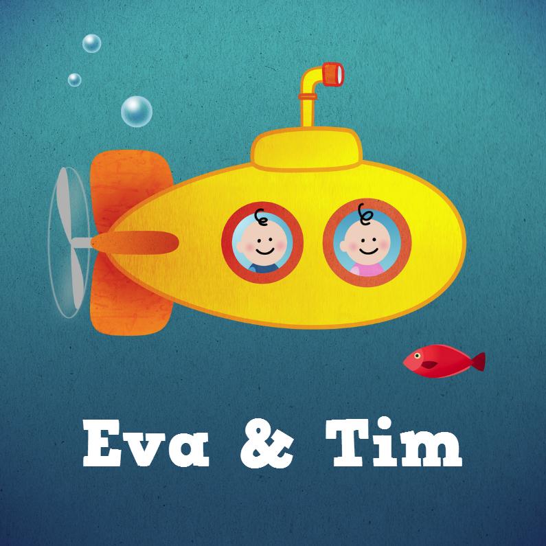 Tweeling onderzeeboot M/J 1
