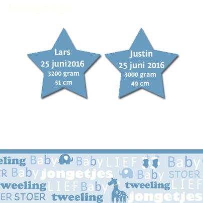 tweeling sterren tekst 2