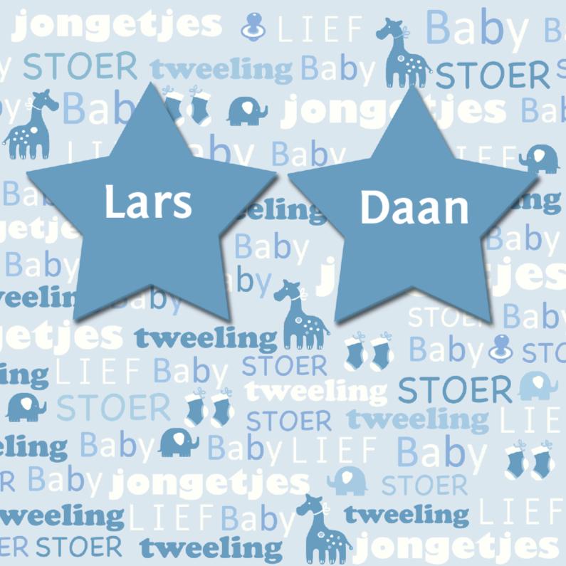 tweeling sterren tekst 1