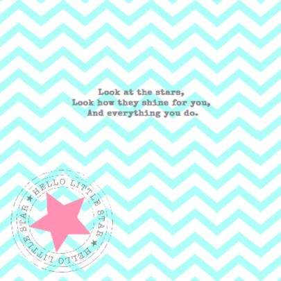 Twinkle Star Pink & Mint 2