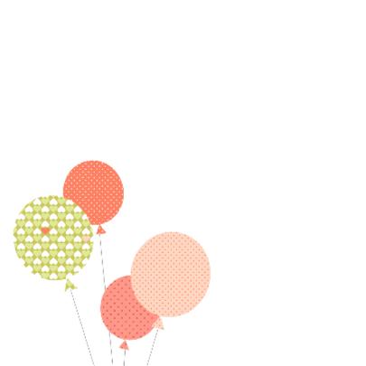 Uiltje met ballonnen 2