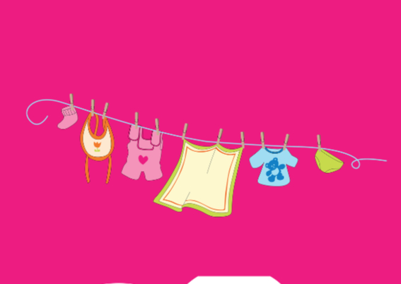 Uitnodiging Babyshower meisje 2