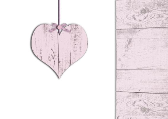 uitnodiging babyshower met hart 2
