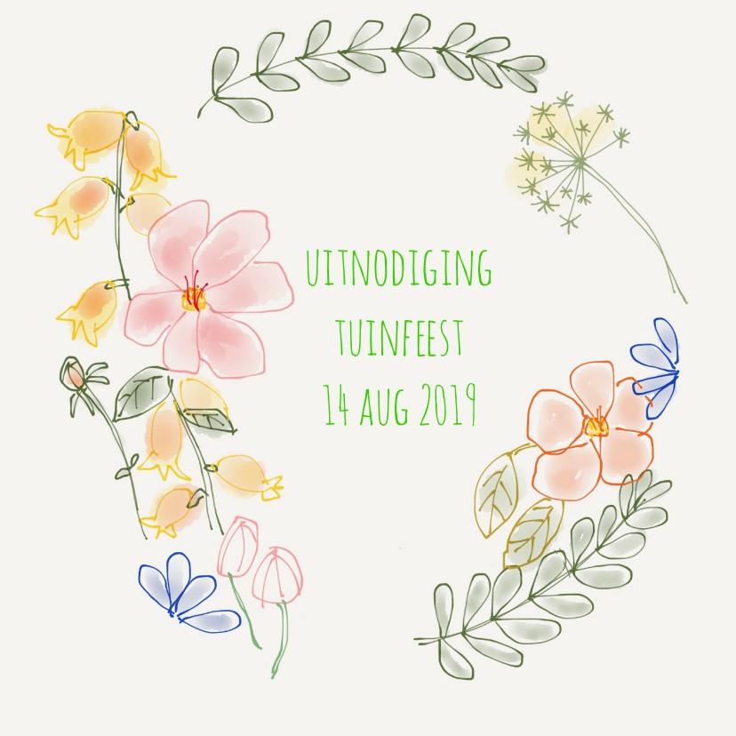 Uitnodiging Bloemenkrans 1