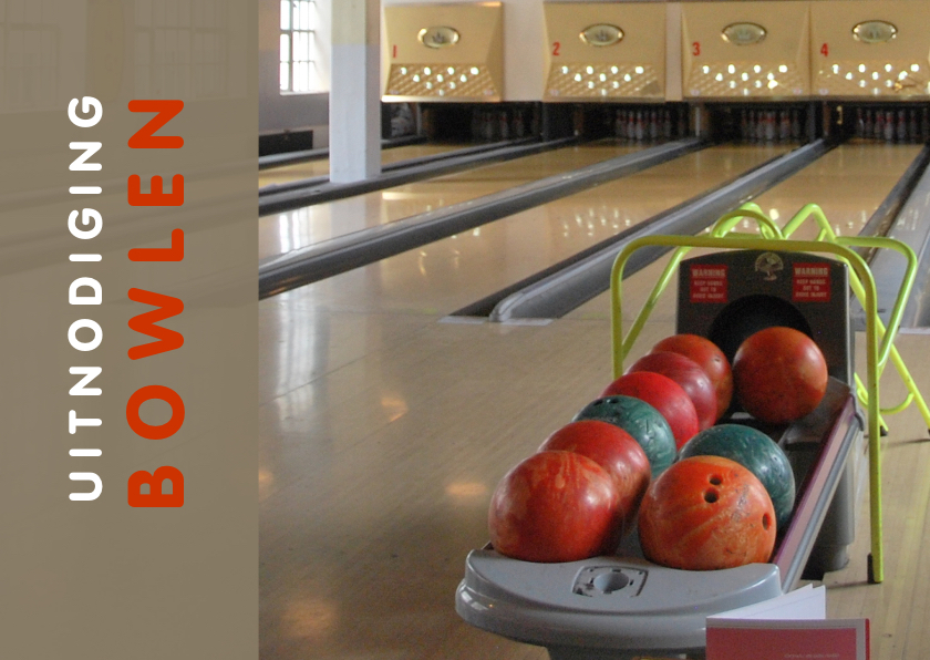 Uitnodiging Bowlen ballen 1