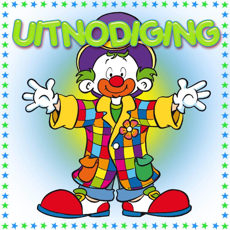 Uitnodiging Clown-MS 1