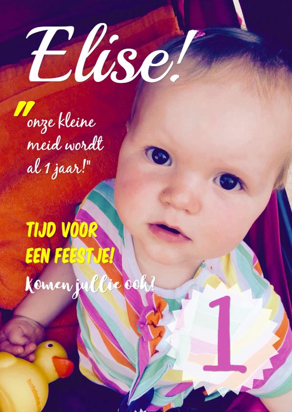 Uitnodiging Cover Elise 1